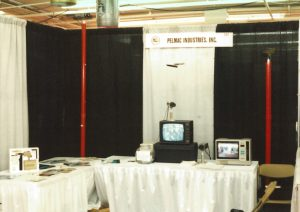 PELMAC's First Trade Show Booth